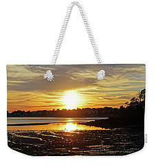Sunset Over Lynch Park Beverly Ma Weekender Tote Bag