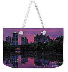 Sunset Over Midtown Weekender Tote Bag