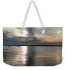 Sunset Over Narragansett Weekender Tote Bag