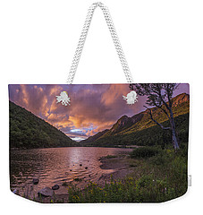 Sunset Over Profile Lake Weekender Tote Bag