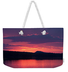 Sunset Over Sabao Weekender Tote Bag