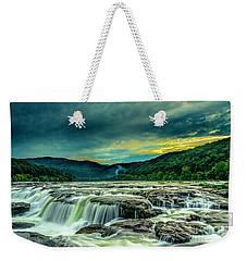 Sunset Over Sandstone Falls Weekender Tote Bag