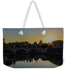 Sunset Over St Peters Weekender Tote Bag