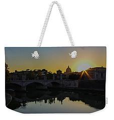 Sunset Over St Peters Weekender Tote Bag