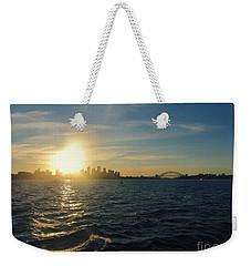 Sunset Over Sydney Harbour Weekender Tote Bag