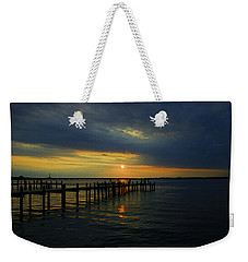 Sunset Over The Bay Weekender Tote Bag