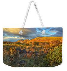 Sunset Over The Campsie Fells Weekender Tote Bag by RKAB Works