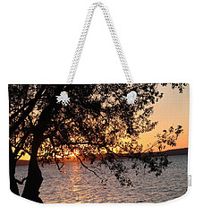 Sunset Over The Caribbean In Cienfuegos, Cuba Weekender Tote Bag