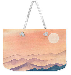 Sunset Over The Hills Weekender Tote Bag