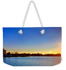 Sunset Over The Jefferson Memorial  Weekender Tote Bag