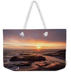 Sunset Over The Ocean Weekender Tote Bag