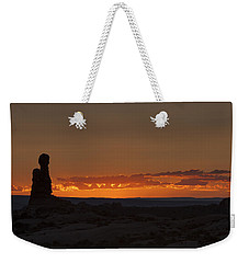 Sunset Over The Petrified Dunes Weekender Tote Bag