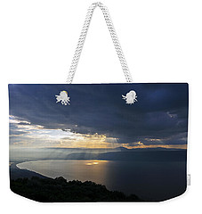 Sunset Over The Sea Of Galilee Weekender Tote Bag