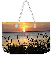 Sunset Over The Sound  Weekender Tote Bag
