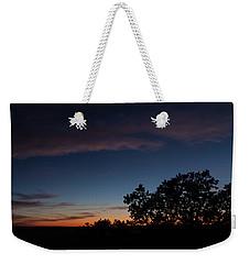 Sunset Over The Utah Desert Weekender Tote Bag