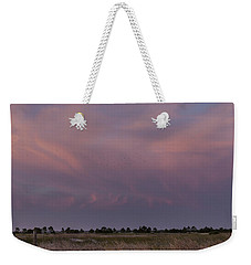 Sunset Over The Wetlands Weekender Tote Bag