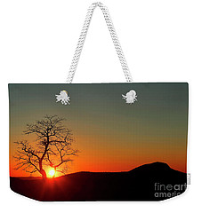 Weekender Tote Bag featuring the photograph Sunset Over Virginia by Darren Fisher