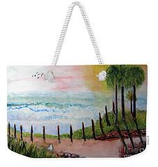 Sunset Overlook Weekender Tote Bag by Sandy McIntire