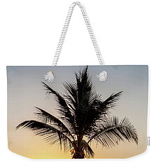 Sunset Palm Weekender Tote Bag by Az Jackson