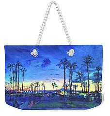 Sunset Palms Santa Monica Weekender Tote Bag
