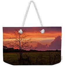 Sunset Pasture Weekender Tote Bag
