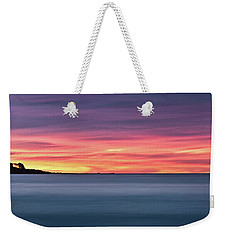 Weekender Tote Bag featuring the photograph Sunset Penisular, Bunker Bay by Dave Catley