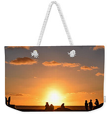 Sunset People In Imperial Beach Weekender Tote Bag