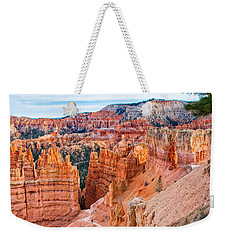 Weekender Tote Bag featuring the photograph Sunset Point Tableau by John M Bailey