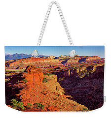 Weekender Tote Bag featuring the photograph Sunset Point View by John Hight