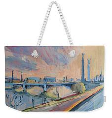 Sunset Pont Fragnee Weekender Tote Bag