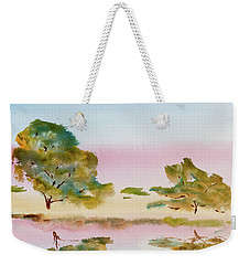 Reflections At Sunrise Weekender Tote Bag