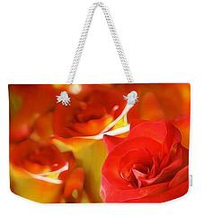 Sunset Rose Weekender Tote Bag