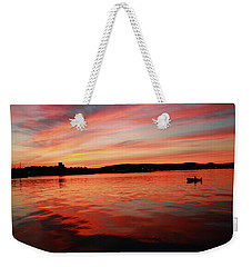 Sunset Row Weekender Tote Bag