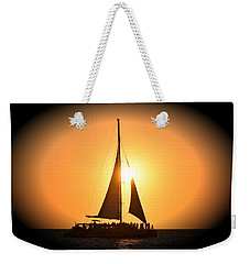 Sunset Sail Weekender Tote Bag by Gary Smith
