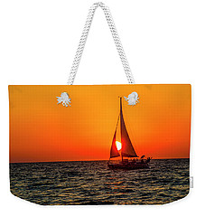 Sunset Sail Weekender Tote Bag by Kevin Cable