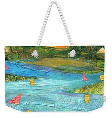 Sunset Sails 2 Weekender Tote Bag