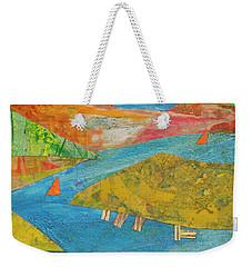 Sunset Sails 1 Weekender Tote Bag