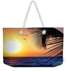 Sunset Salute In Aruba Weekender Tote Bag