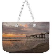 Sunset Scripps Beach Pier La Jolla San Diego Ca Image 4  Weekender Tote Bag