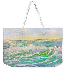 Sunset Seascape 6 Weekender Tote Bag by Judi Goodwin
