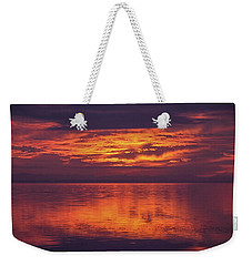 Sunset Sequim Weekender Tote Bag