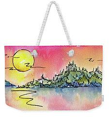 Sunset Serenade Weekender Tote Bag by Pat Katz