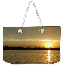 Sunset Shelbyville Il Weekender Tote Bag