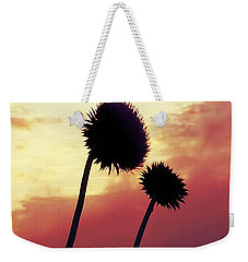Sunset Silhouettes Weekender Tote Bag by Maria Urso