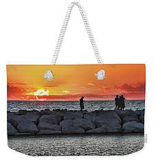Sunset Silhoutte Weekender Tote Bag