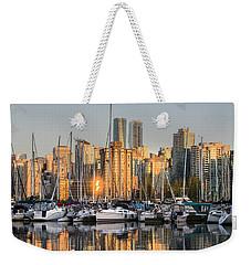Sunset Skyline Weekender Tote Bag