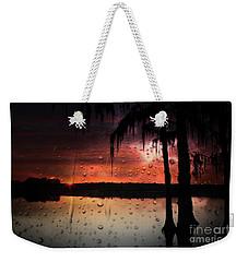 Sunset Storms Weekender Tote Bag