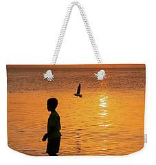 Sunset Stroll Weekender Tote Bag