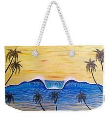 Sunset Surf Dream Weekender Tote Bag