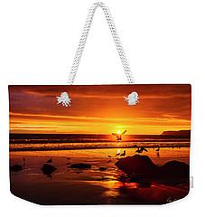 Sunset Surprise Weekender Tote Bag